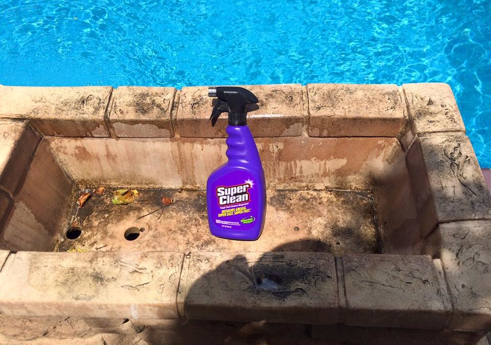Poolside Cleaning