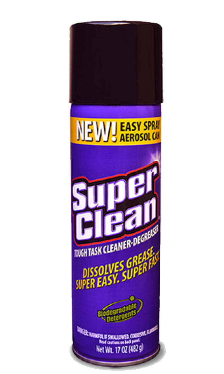 SuperClean Aerosol Cleaner-Degreaser