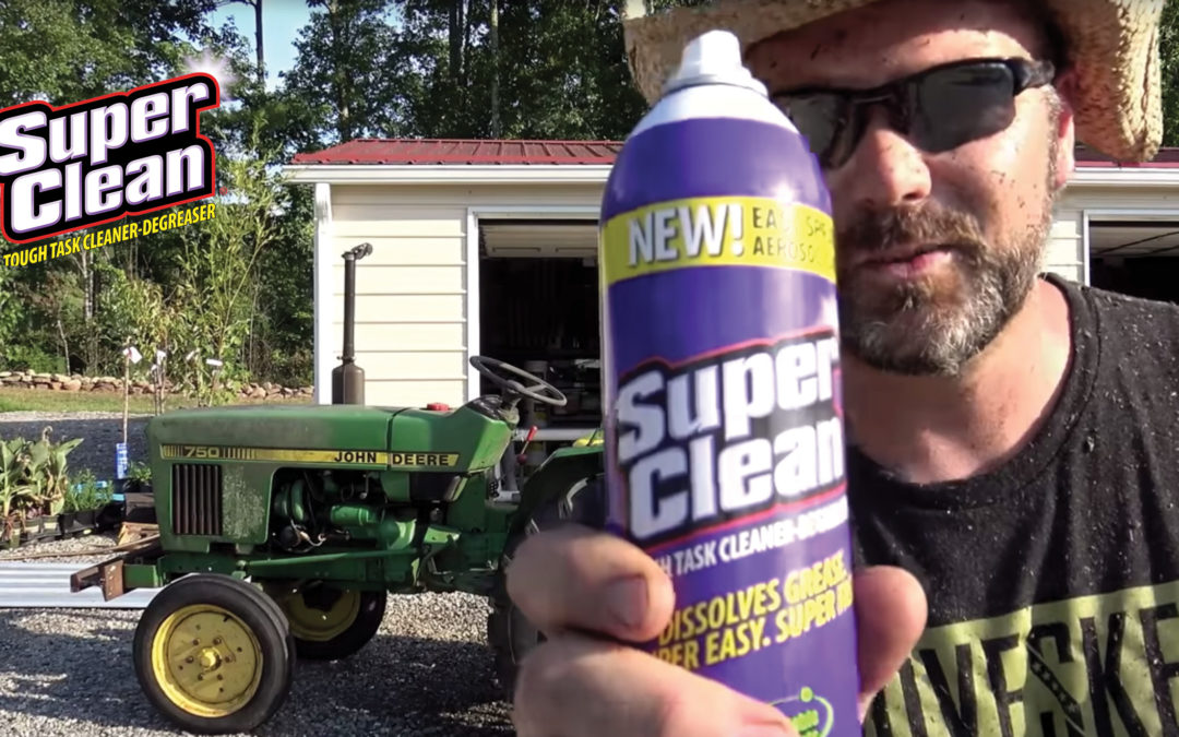 Clean Big Messes on Big Machinery with Super Clean!